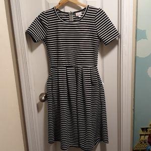 ❤Lularoe striped dress sz.S